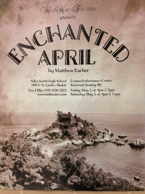 NN Theatre presents it final performance ENCHANTED APRIL