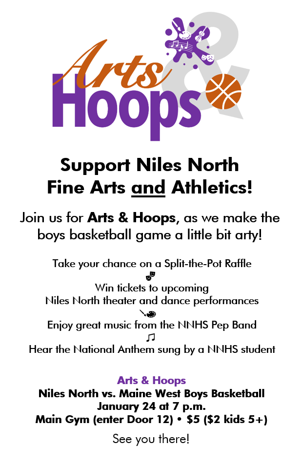 Arts+Hoops full flyer image